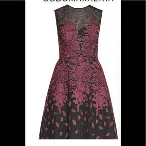 BCBG Maxazria floral embroidery sz 2-4 see measure